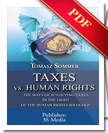 (e-book) Taxes vs. Human Rights (Tomasz Sommer)